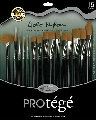 Image For BRUSH SET 15PC SHT HANDLE