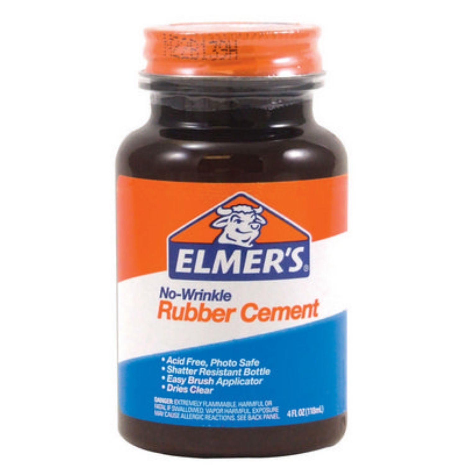 Image For RUBBER CEMENT 8OZ ELMERS