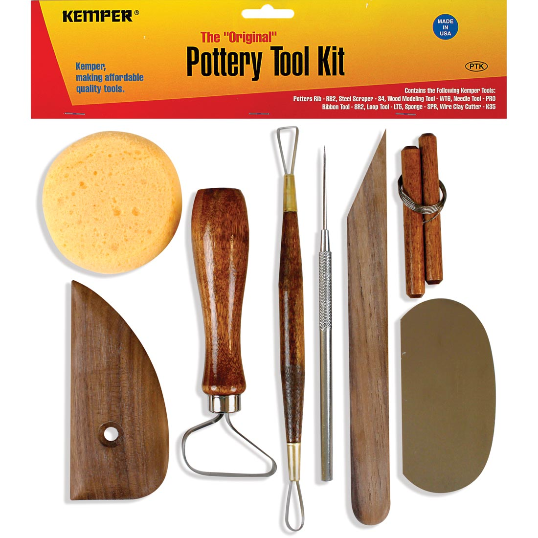 Image For POTTERY TOOL KIT